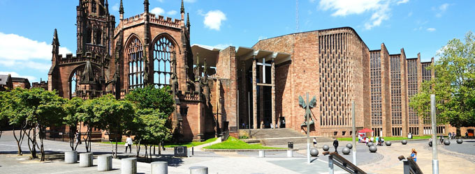 London / Coventry Tour - Coventry Cathedral England